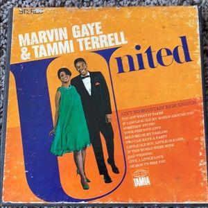 Marvin Gaye & Tammi Terrel reel to reel tape